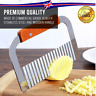 Potato Chip Cutter Slicer Vegetable Tool Potato French Fries Salad Stainless