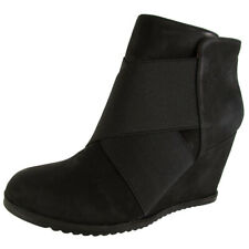 Gentle Souls Womens Georgia Ankle Bootie Shoes, Black, US 7.5