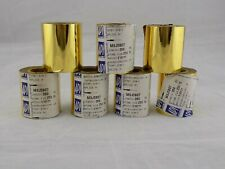 (1) ROLL HOT STAMPING FOIL * BRIGHT GOLD * 2 1/4