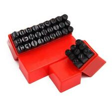 NUEVO ALFABETO PUNCHES A-Z & NUMBERS Metal Steel Letter Punch Stamp Kit 5MM