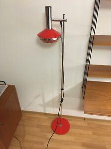 Stehlampe Lampe Vintage Mid Century Space Age 60er 70er