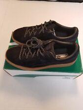 Puma Shoes Black Basket Classic Winterized Jr Size 4.5C JUNIOR Sneakers NIB