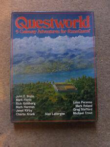 Questworld - 9 Gateway Adventures for RuneQuest - Box Set - 1982 - Chaosium
