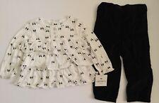Carter's brand 2 pc black / white Christmas ,Holidays Tunic /pant set size 18M