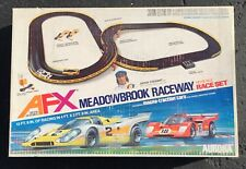1977 Complete Tested Meadowbrook Raceway AFX Aurora Slot Car Set #2122 w/ Cars