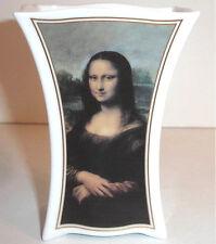 """Goebel Artis Orbis Leonardo Da Vinci Mona Lisa Vase Porcelain 4.75""""H New"""