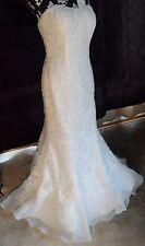 Long Elagant White Wedding Dress