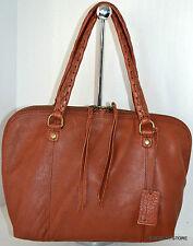 Linea Pelle Brown Satchel Leather Bag Handbag Purse Sac Bolsa NWT