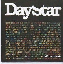 (CE399) Daystar, Off Our Heads - 2011 DJ CD