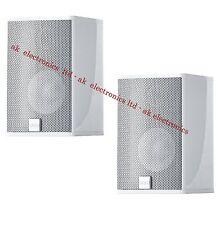 Canton CD 1020 Pair of 2 Surround Bookshelf Home Cinema Silver Speakers 200W
