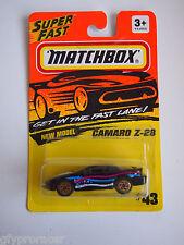 MATCHBOX SUPERFAST #43 CAMARO Z-28 1993 ISSUE
