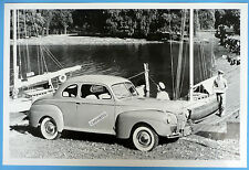 """12 By 18"""" Black & White Picture 1941 Ford  Club Coupe"""