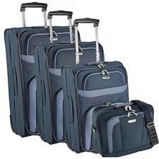 Travelite Orlando 2-wheels Trolley suitcase luggage set 4 pcs. 28.5 cm (marine)