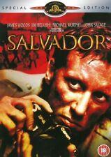 SALVADOR SPECIAL EDITION JAMES WOODS JIM BELUSHI MGM UK REGION 2 DVD BOOKLET NEW