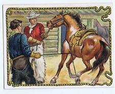 Hassan Cigarettes Cowboy Series T53 Western A Balky Pupil horse high grade 317