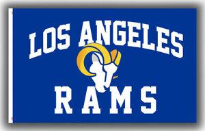 Los Angeles Rams Football Team Memorable New Flag 90x150cm 3x5ft Fan Best Banner