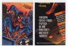 1X 1995 Fleer Ultra SPIDER MAN Promo SAMPLE Prototype Amazing Golden Web
