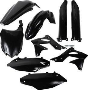 Acerbis Radiator Shrouds Scoops Plastic Black Kawasaki KX250F 2013-2014