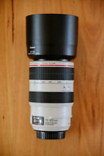 Canon EF 70-300mm f4-5.6 L IS USM lens/ lightly used / perfect working order