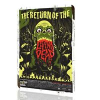 Metal Tin Sign Return of The Living Dead Mondo Poster Art Wall Home Decor Rusted