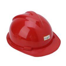Plastic Construction Worker Hard Hat Outdoor Work Safety Helmet