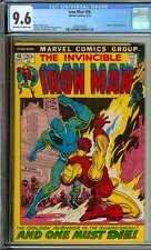 IRON MAN #46 CGC 9.6 OW/WH PAGES