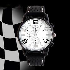 Men Fashion Stainless Steel Sport Cool Quartz Hours Wrist Analog Watch