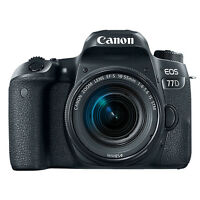 Canon EOS 77D Digital SLR Camera with 18-55mm EF-S IS STM Lens