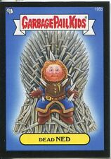 Garbage Pail Kids Mini Cards 2013 Black Parallel Base Card 195b Dead NED