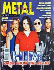 Metal Shock 348/2001 HIM ADEMA DREAM THEATER IMPALED NAZARENE SAXON