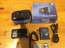 Canon PowerShot SX230 HS 12.1MP Digital Camera GPS AF - Black excellent cond.