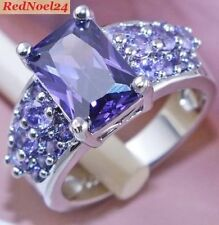 Routinely Enhanced Amethyst Fine Rings