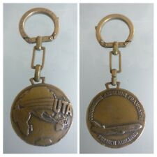 Porte Clés French Airlines UTA vintage keychain