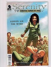 SERENITY LEAVES ON THE WIND #4 Jeanty Var Dark Horse Comics VF/NM  - Vault 35