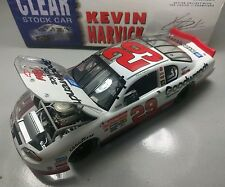 KEVIN HARVICK #29 GM GOODWRENCH 2001 HALF CLEAR CAR 1:24 ACTION RCCA CLUB