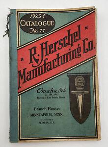 R Herschel Manufacturing Co. Ag Farm Hardware Catalog 1923 24 Vintage Original