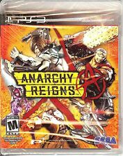 NEW/SEALED ANARCHY REIGNS SEGA PS3 VIDEO GAME PLAYSTATION 3