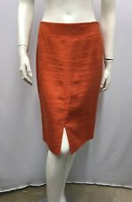 DOLCE & GABBANA SKIRT COPPER APRICOT TONE VERY ELEGANT AND CHIC SIZE 40