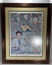 """UK Kentucky Wildcats Framed """"KENTUCKY TRADITIONS"""" Art Print by Steve Ford COA"""