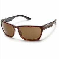 Authentic Suncloud Iris CatEye Polarized Sunglasses Tortoise Havana /& Brown Lens