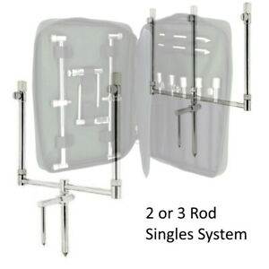 NGT Storks Singles Bank Sticks Buzz Bar Sets FULL RANGE STAINLESS STEEL