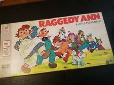 VINTAGE 1974 RAGGEDY ANN A LITTLE FOLKS BOARD GAME