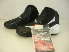 Mens 12.5 48 Alpinestars SMX-1 R Vented Boots Black / White Touring Riding NWT
