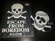 Death 'Escape From Boredom' Skate Video Skateboard Dvd Richie Jackson 2005