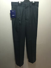 BNWT Boys Sz 8 Midford Brand Dark Grey Pleated Wool Blend School Pants T580-BSHA