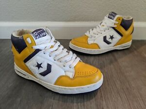 Converse Weapon LA Lakers vintage basketball shoes Magic Johnson us 7.5