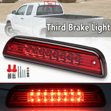 LED Third 3rd Rear Brake Tail Light RED Cargo Lamp For 1995-2016 Toyota Tacoma