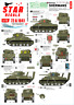 Star Decals 1/72 Británico Shermans. 75th D-Day Especial #72-A1041
