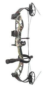 PSE Archery Uprising Compound Bow Pkg 15-70# Left Hand Mossy Oak