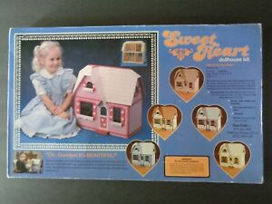 Vintage 1985 Dura Craft Sweet Heart Dollhouse Kit SW 125 Complete - Open box